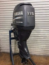 Free Shipping For Used Yamaha 115 HP 4 Stroke Outboard Motor Engine