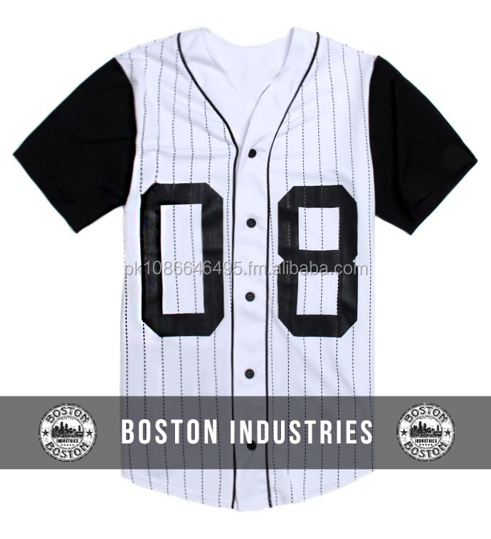 Custom Sublimated Baseball Jersey Custom Number