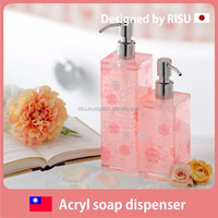 Premium and Beautiful japanese plastic dispenser with pump