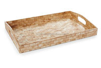 High end quality best selling special newest designed MOP inlay rectagular serving Tray from Vietnam