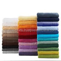100% Cotton Plain Yarn dyed spa towels