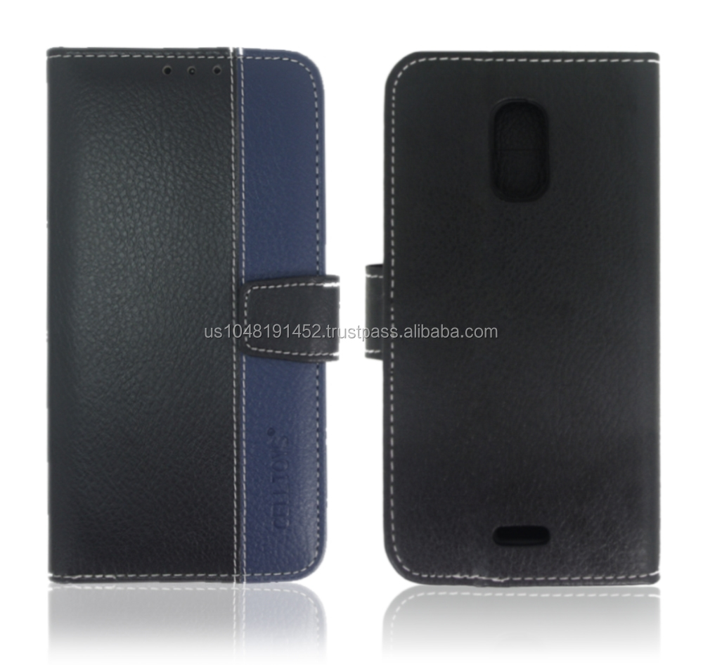 BLU Studio G Leather Wallet Case
