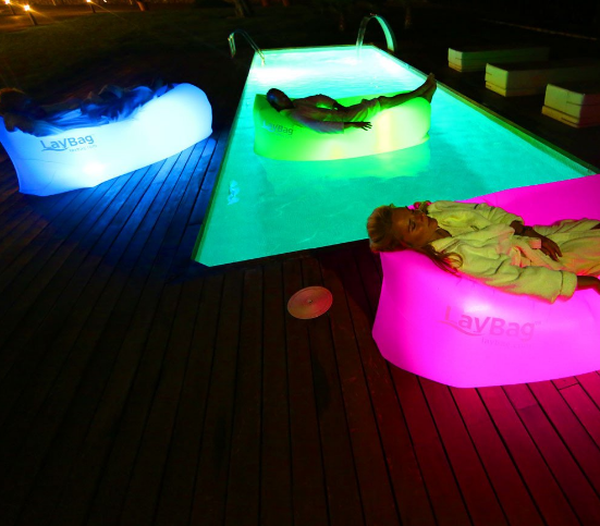 Inflatable Outdoor Air Sofa Led Light Kit for Laybag