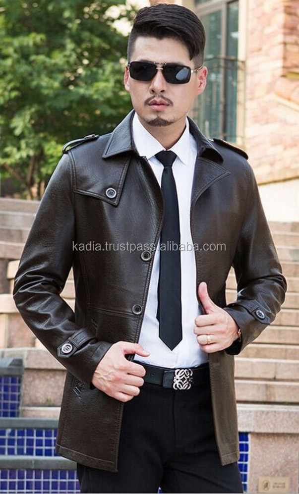 Gents Leather Coat