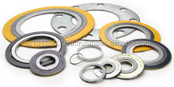 Gasket Spiral Wound, Graphite, Garlock, Camprofile, types