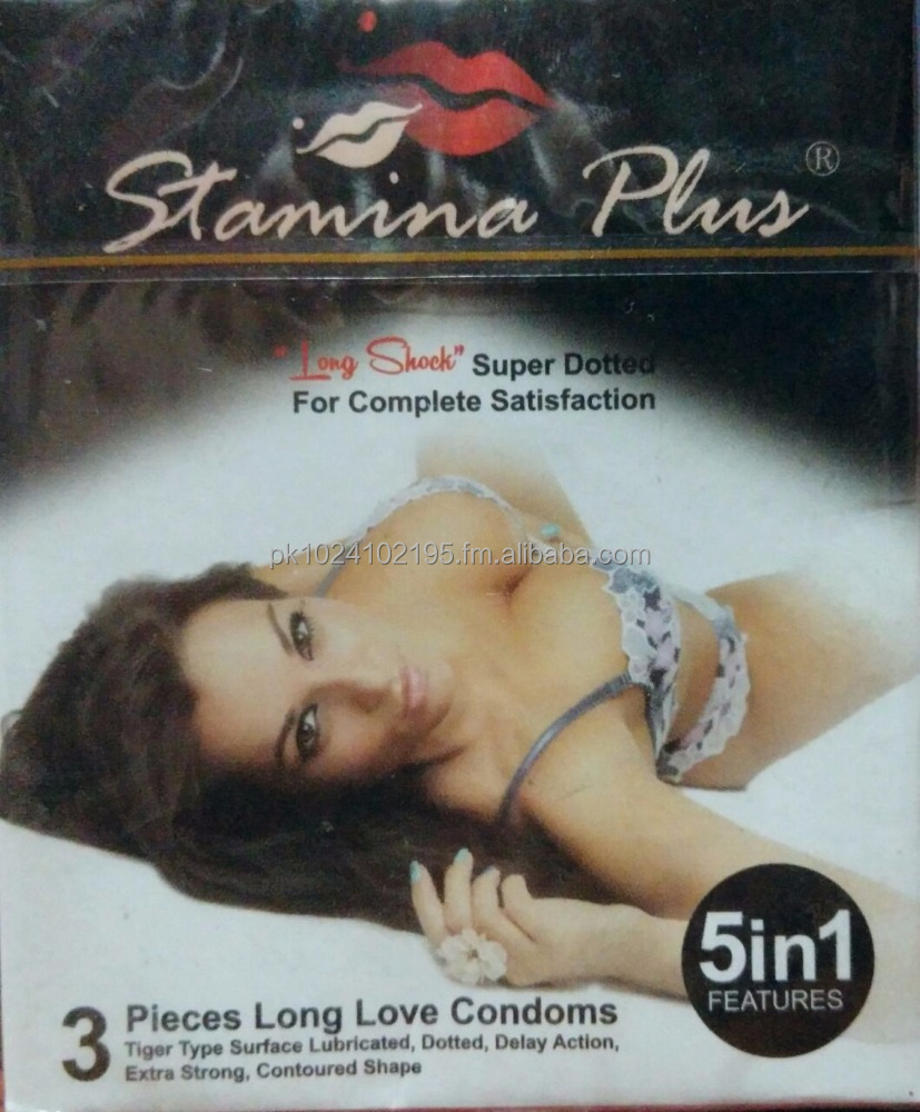 Stamina Plus Super Dotted Condoms