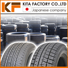 Japanese brand's used lot tire for passenger cars in wide range of sizes