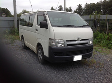 SALE OF USED CARS RIGHT HAND DRIVE IN JAPAN FOR TOYOTA HIACE VAN CBF-TRH200V