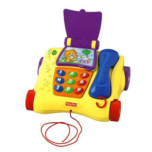 Fisher-Price Dante The Phone Talking