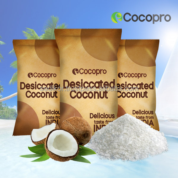 Quality desiccated coconut (dried fruit powder)