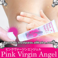PINK VIRGIN ANGEL made in Japan cosmetics vaginal cream feminine care skin whitening and moisture, remove black color