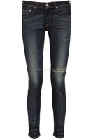 High Quality 2015 Original Brand Women Black Skinny Sex Jeans