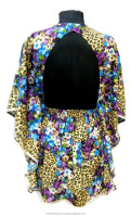 Tribal digital print kaftan