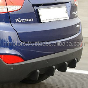 Hyundai Motors Tucson ix35 Aero Parts Rear Diffuser