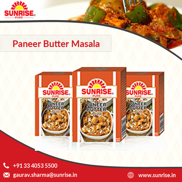 Quality Tasted Bulk Buyers of Paneer Butter Masala Wholesale Price