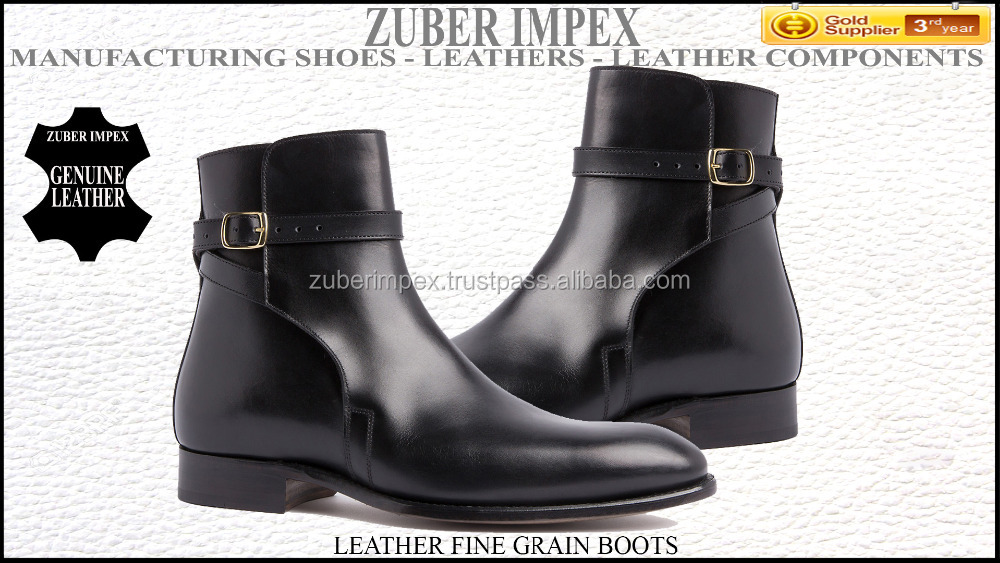 Leather Boots for Men High Quality Leather Dress shoes - Shoe manufacturer