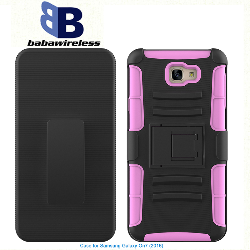 Chinese Manufacturer Super Combo Case for LG For Samsung Galaxy S7 case with Belt Clip Holster