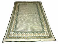 Indian Cotton Quilt Jaipuri Razai Hand Block Printed Reversible Quilt