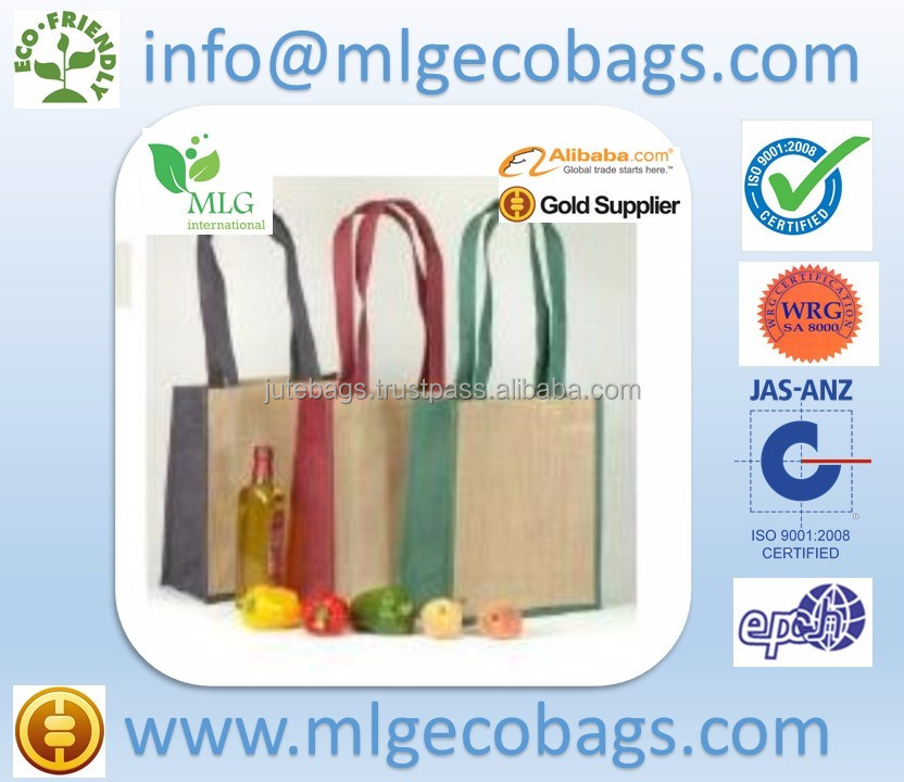 Jute Bags Promotional by MLG (Kolkata, West Bengal) in Pakistan