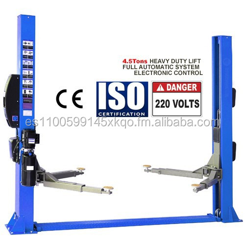 2 TWO POST LIFT 4.5 Ton - CAR LIFT - DOUBLE COLUMN / PISTON