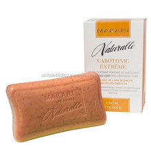 MAKARI NATURALLE CAROTONIC EXTREME EXFOLIATING PURIFYING LIGHTENING SOAP ENRICHED WITH CARROT OIL, SPF 15, 7.0 OZ.