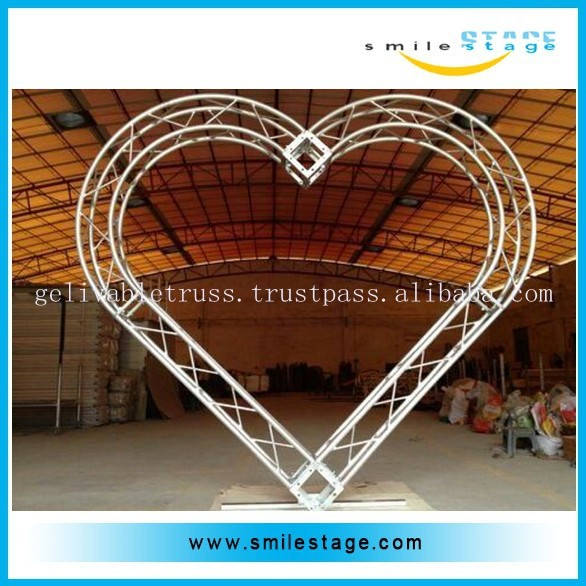wholesale ground support truss system with circle truss and square truss
