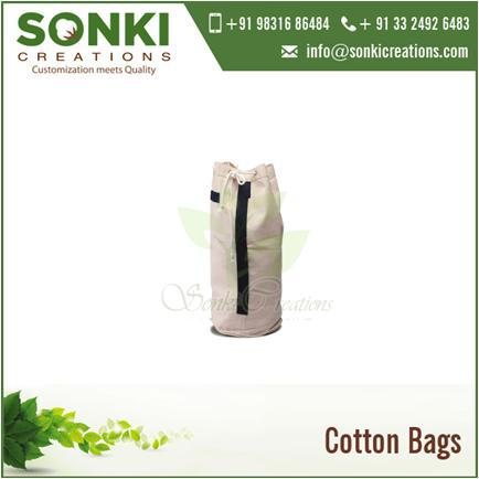 Pure Cotton Foldable Shopping Bags Manufacturer from India