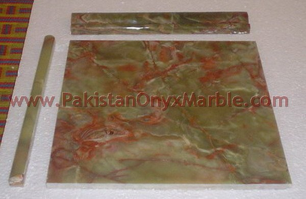 BEAUTIFUL DARK GREEN ONYX TILES COLLECTION