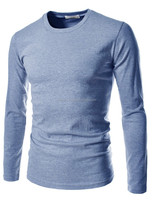 2015 NEWEST MEN'S ROUND NECK T-SHIRT LONG SLEEVE T-SHIRTS FOR MEN'S STREET WEARS