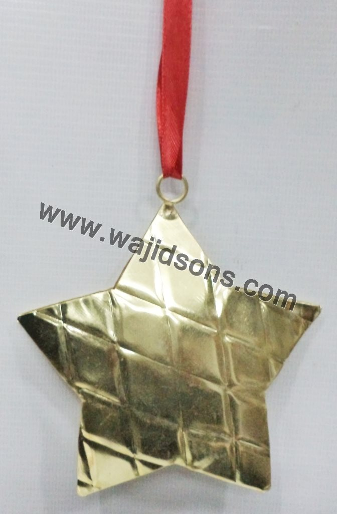 Christmas Decorative Gold plated hanging items