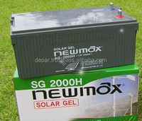 Newmax 12V 200Ah Solar Gel Battery- Deep Cycle solimax SG2000H