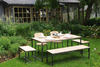 MALAGA garden set - recycled elm wood