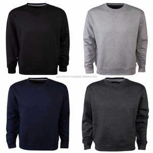Custom colors mens oversized pullover unisex sweatshirts plain crewneck cheap warm winter sweat shirts Wholesale price