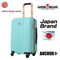 Expandable body and Smart Stopper Carry function wheels luggage for travel volume expandable
