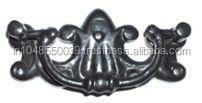 CAST IRON RIVETED LIFTING HANDLE CHEST DRAWER DESK TRUNK CABINET CUPBOARD HANDLE