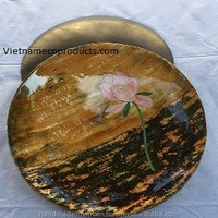 High Quality Lacquer Plate D25cm X