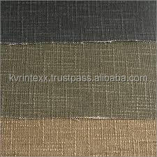 three types of color rayon linen blend fabric