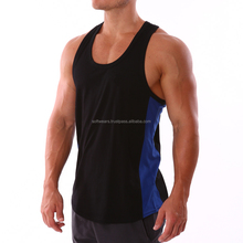 wholesale quality cotton muscle stringer/singlet/tank top