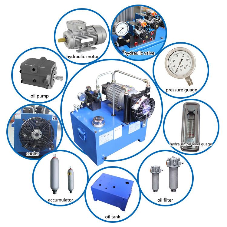 Hydraulic power station hydraulic pump station hydraulic for Aquaclear motor unit for power filter