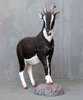 Life size realistic animals made from fiberglass