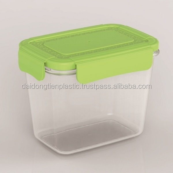 Perfect solution for transporting both hot foods and cold food plastic-plastic food container L1194