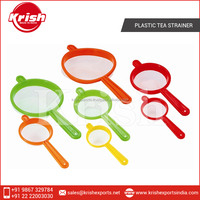 Easy Holdable Plastic Tea Strainer at Lowest Market Price