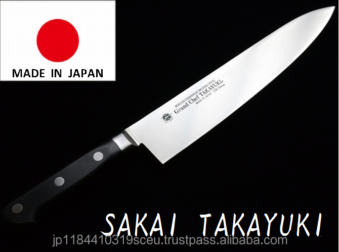 Reliable and Easy to use coloured chef knife High Grade Kitchen Knife with suprem sharpness made in Japan