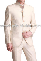 Mens Ethnic Royal Look Linen Jodhpuri Suit