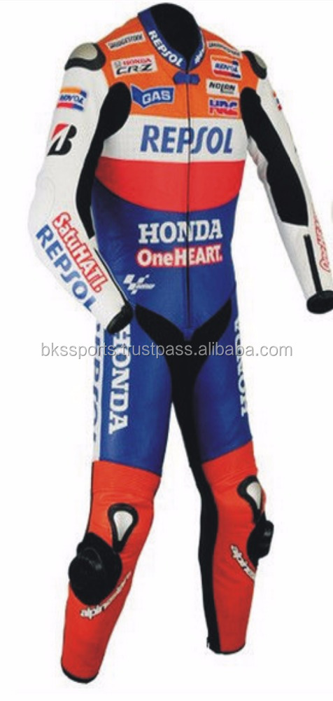 Honda best quality 2017 latest design Motorbike racing suit