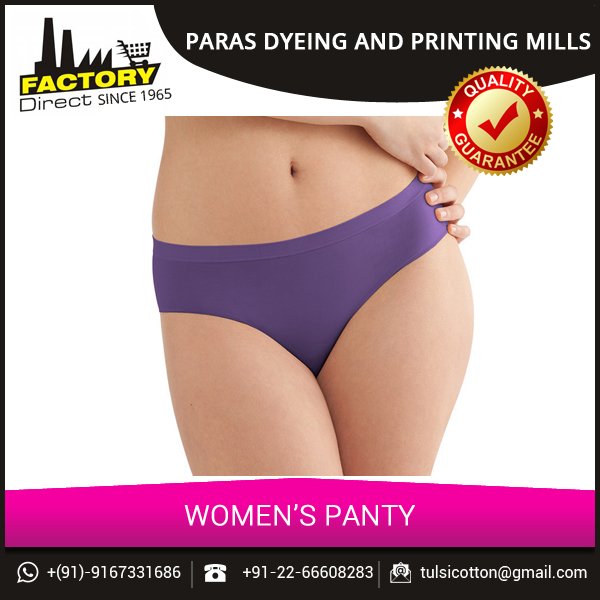 Cotton Seamless Underwear/ Panty from Wholesale Supplier