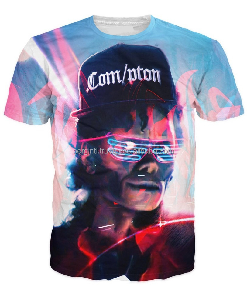 Michael Jackson latest design all over printed sublimation t shirt/AT BERG
