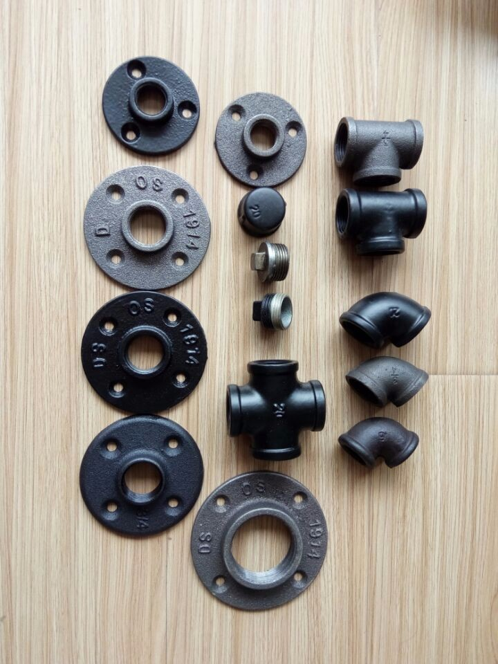 1/2u0027u0027 3/4u0027u0027 Cast Iron Pipe Fittings From China Manufacturer For Furniture  Table Leg