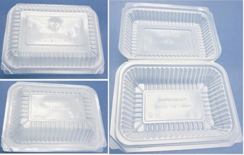 Take-out/Takeaway Small Lunch Box, Microwaveable and Disposable, Clamshell/1 piece