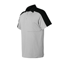 100% Polyester Plain Short Sleeve with Collar Polo Shirt
